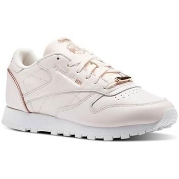 kengät Naiset Matalavartiset tennarit Reebok Sport CL Lthr Vaaleanpunaiset