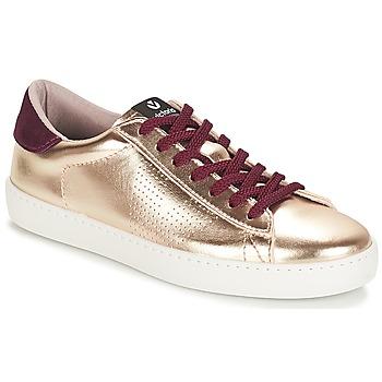 kengät Naiset Matalavartiset tennarit Victoria DEPORTIVO METALIZADO Gold