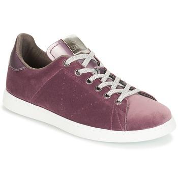 kengät Naiset Matalavartiset tennarit Victoria DEPORTIVO TERCIOPELO Violet