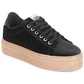 kengät Naiset Matalavartiset tennarit Victoria DEPORTIVO TERCIOPELO/CARAM Black