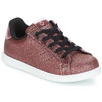 kengät Tytöt Matalavartiset tennarit Victoria DEPORTIVO METAL CREMALLERA Vaaleanpunainen