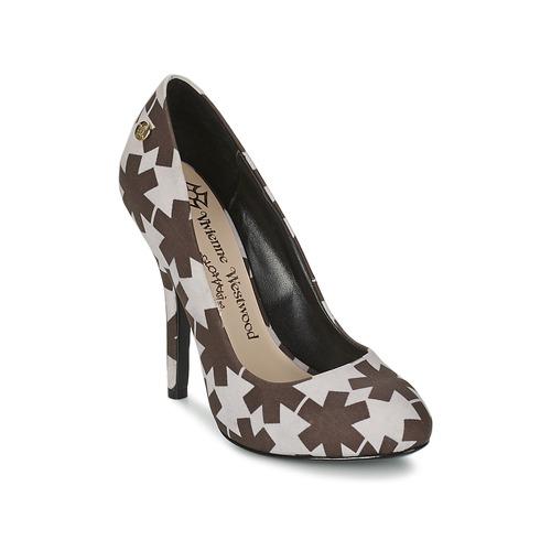 kengät Naiset Korkokengät Vivienne Westwood MAGGIE II Black / White