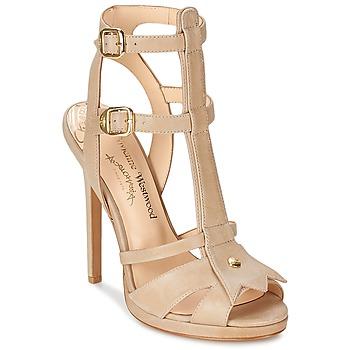kengät Naiset Sandaalit ja avokkaat Vivienne Westwood CAVIL Beige