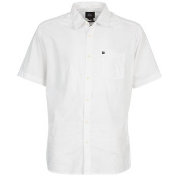 vaatteet Miehet Lyhythihainen paitapusero Quiksilver EVERYDAY SOLID SS White