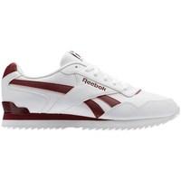 kengät Miehet Matalavartiset tennarit Reebok Sport Royal Glide Ripple Clip Valkoiset, Punainen
