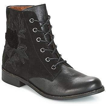 kengät Naiset Bootsit Karston ACAMI Black