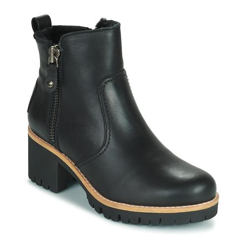 kengät Naiset Nilkkurit Panama Jack PAULINE Black