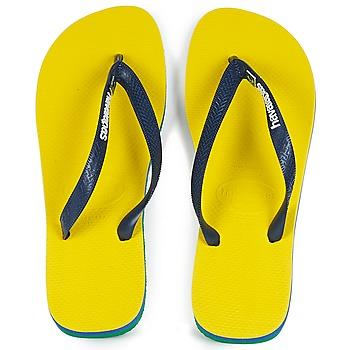 kengät Varvassandaalit Havaianas BRASIL LAYERS Yellow