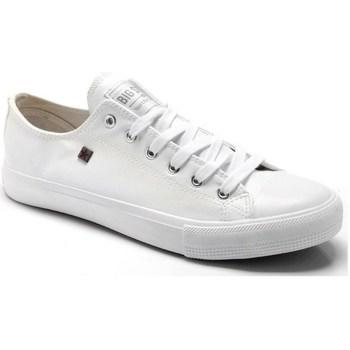 kengät Naiset Matalavartiset tennarit Big Star V274869 Valkoiset