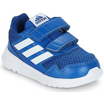 kengät Lapset Matalavartiset tennarit adidas Originals ALTARUN CF I Blue