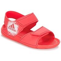 kengät Tytöt Sandaalit ja avokkaat adidas Performance ALTASWIM C Vaaleanpunainen