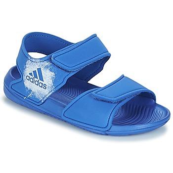 kengät Lapset Sandaalit ja avokkaat adidas Performance ALTASWIM C Blue