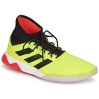 kengät Miehet Jalkapallokengät adidas Performance PREDATOR TANGO 18.1 TR Yellow / Black / Red