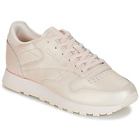 kengät Naiset Matalavartiset tennarit Reebok Classic CLASSIC LEATHER Pink