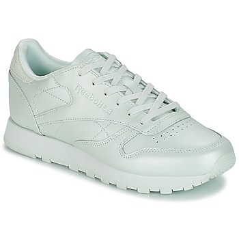 kengät Naiset Matalavartiset tennarit Reebok Classic CLASSIC LEATHER Green