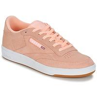 kengät Naiset Matalavartiset tennarit Reebok Classic CLUB C 85 Pink