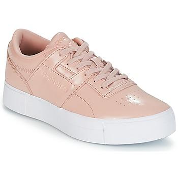 kengät Naiset Matalavartiset tennarit Reebok Classic WORKOUT LO FVS Pink
