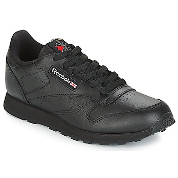 kengät Lapset Matalavartiset tennarit Reebok Classic CLASSIC LEATHER J Black