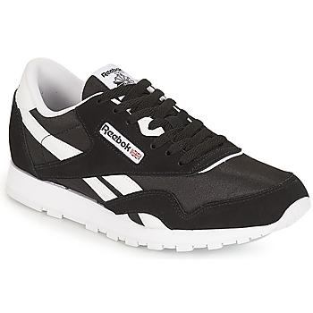 kengät Lapset Matalavartiset tennarit Reebok Classic CLASSIC NYLON J Black / White