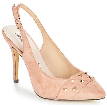 kengät Naiset Sandaalit ja avokkaat Menbur DINITARSA Beige / Pink
