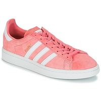 kengät Naiset Matalavartiset tennarit adidas Originals CAMPUS W Vaaleanpunainen