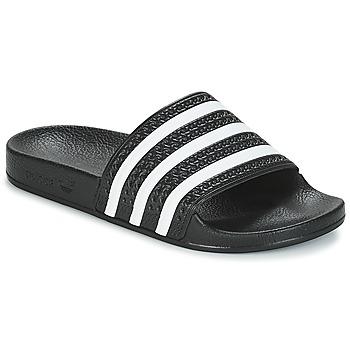 kengät Rantasandaalit adidas Originals ADILETTE Black / White