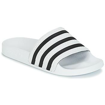 kengät Rantasandaalit adidas Originals ADILETTE Valkoinen / Musta