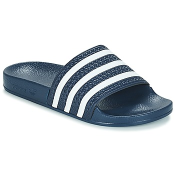 kengät Rantasandaalit adidas Originals ADILETTE Laivastonsininen / Valkoinen