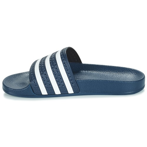 Naisten kengät adidas Originals ADILETTE Laivastonsininen / White  kengät Rantasandaalit 3599