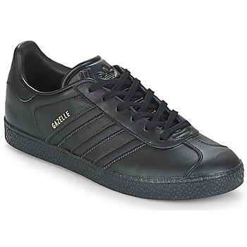 kengät Lapset Matalavartiset tennarit adidas Originals GAZELLE J Musta