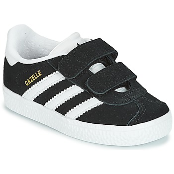kengät Lapset Matalavartiset tennarit adidas Originals GAZELLE CF I Black