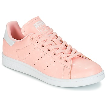 kengät Naiset Matalavartiset tennarit adidas Originals STAN SMITH W Pink