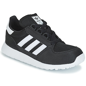 kengät Lapset Matalavartiset tennarit adidas Originals OREGON C Black