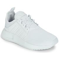 kengät Lapset Matalavartiset tennarit adidas Originals X_PLR J White