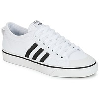 kengät Matalavartiset tennarit adidas Originals NIZZA White / Black