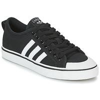 kengät Matalavartiset tennarit adidas Originals NIZZA Musta / Valkoinen