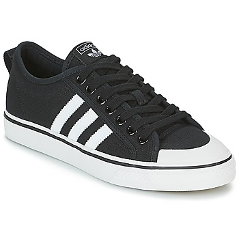 kengät Matalavartiset tennarit adidas Originals NIZZA Black / White