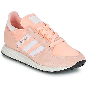 kengät Naiset Matalavartiset tennarit adidas Originals OREGON W Pink
