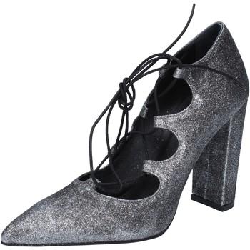 kengät Naiset Korkokengät Islo decolte argento glitter BZ216 Argento
