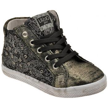 kengät Lapset Korkeavartiset tennarit Liu Jo  Musta