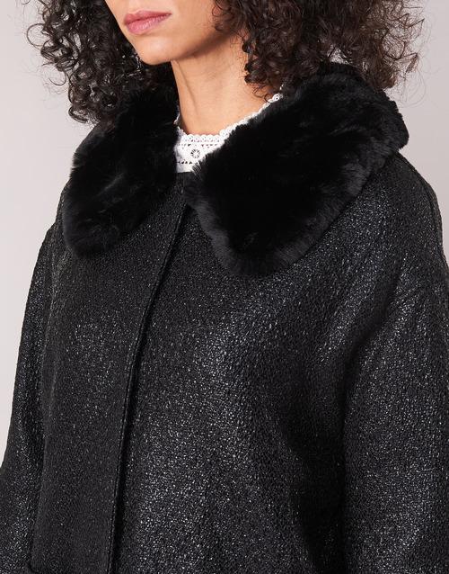 Molly Bracken Quien Black - Ilmainen Toimitus- Vaatteet Paksu Takki Naiset 73