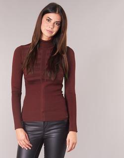 vaatteet Naiset Neulepusero Morgan MENTOS Bordeaux