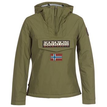 vaatteet Naiset Parkatakki Napapijri RAINFOREST WINTER Kaki