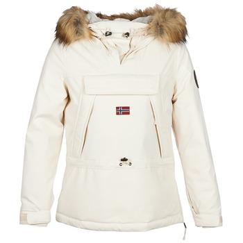 vaatteet Naiset Parkatakki Napapijri SKIDOO White