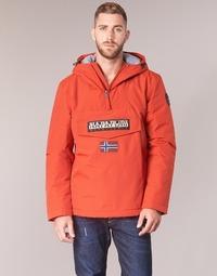 vaatteet Miehet Parkatakki Napapijri RAINFOREST WINTER Orange