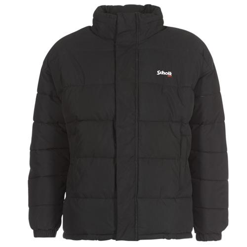 vaatteet Toppatakki Schott NEBRASKA Musta