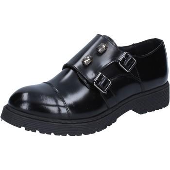 kengät Naiset Derby-kengät Islo classiche nero pelle lucida BZ224 Nero