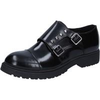kengät Naiset Derby-kengät Islo classiche nero pelle BZ228 Nero