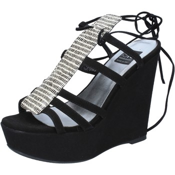kengät Naiset Sandaalit ja avokkaat Islo sandali nero camoscio BZ328 Nero