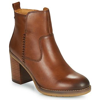 kengät Naiset Nilkkurit Pikolinos POMPEYA W9T Camel